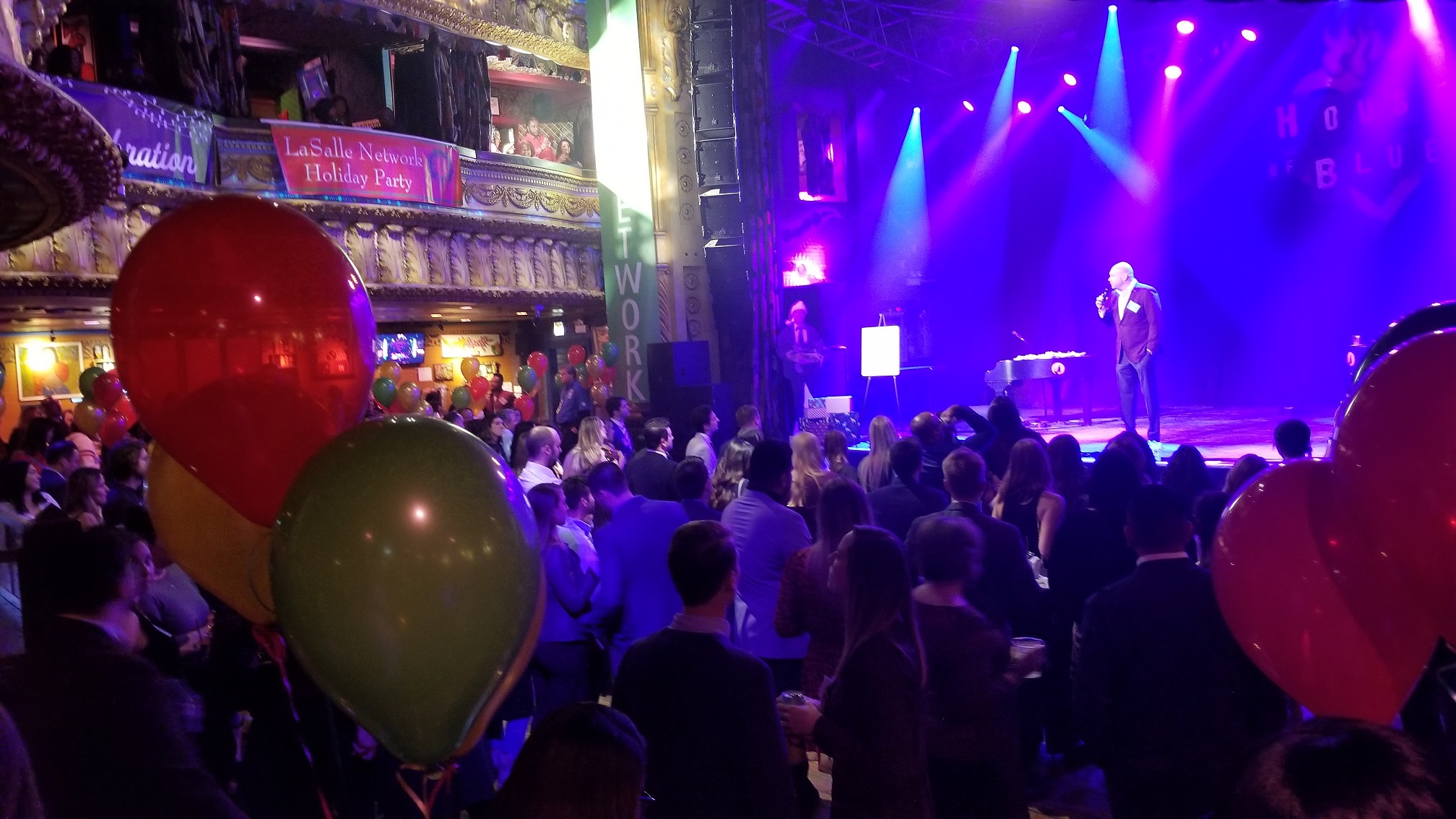 IMC attended the LaSalle Network 2019 Holiday Party, held at the House of Blues in downtown Chicago.