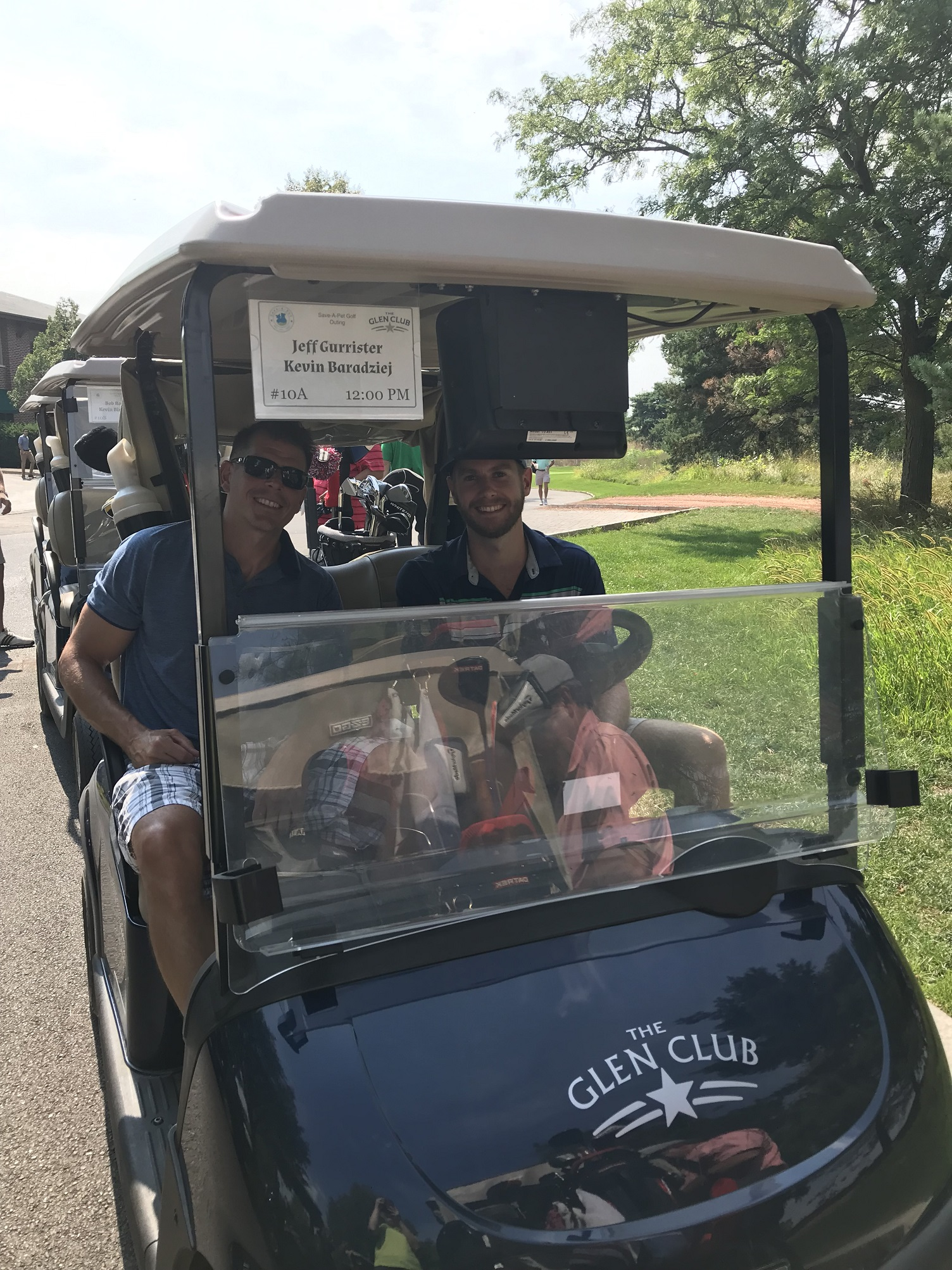 Kevin Baradziej and Jeff Gurrister participated in the 4th Annual Real Estate to the Rescue Golf Outing charity tournament, for the Save-A-Pet Foundation.